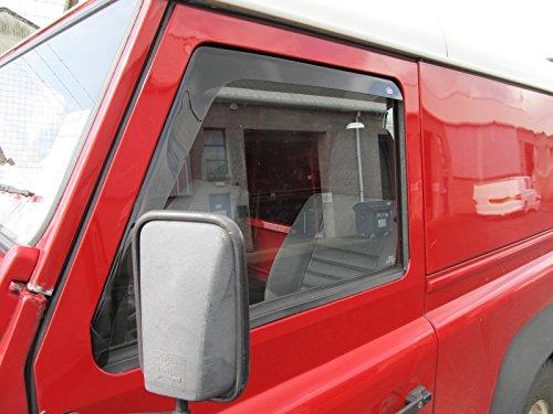 CLIMAIR Car Wind Deflectors RENAULT GRAND SCENIC 2009 onwards REAR