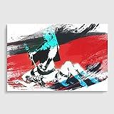 Arty Pie Banksy Queen Vic Victoria Graffiti Wall Art V2 Poster Print, Mehrfarbig, A2/59,4x 42cm/23,4x Kunstdruck