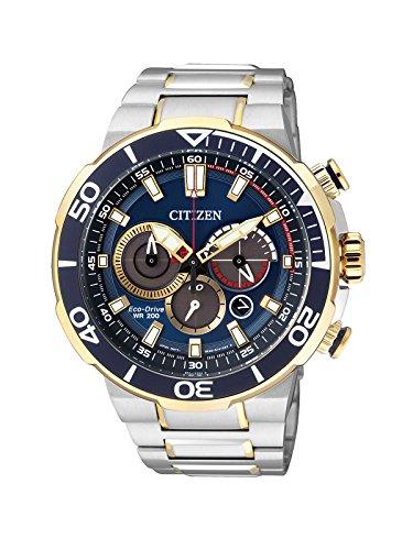 Citizen da uomo orologio da polso cronografo al quarzo acciaio inossidabile ca4254–53l