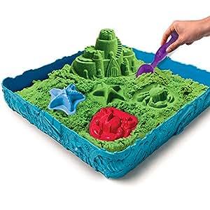 Kinetic Sand Sandcastle Set (Verde)