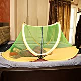 BD BEDDING Soft & Comfortable Foldable Baby Mosquito Net With BaseCloth (For: 2 To 6 Years)