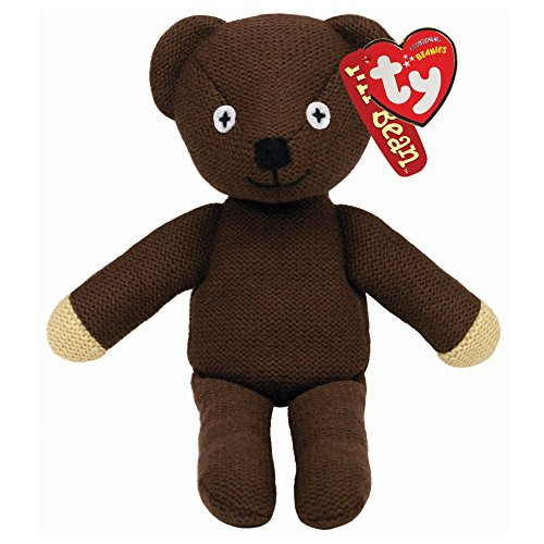 TY Original Beanie - Mr Bean Jacket & Tie Teddy Bean 25cm