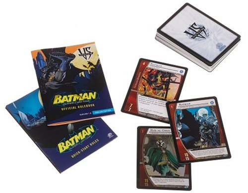 BATMAN TRADING CARD GAME STARTER DECK TOY