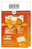 lavera Pflegeset ∙ Vitalisierendes Duschgel & Bodylotion Orange im Kosmetik Set ∙ vegan ✔ Bio...