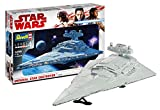 Revell 06719 Modellino, Star Wars 1: 2700 – Imperial Star Destroyer, Level 4, orginalgetreue finto con molti dettagli
