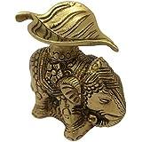 Hindu Elephant DecorDiyafor Diwali and Home Temple Mandir Decorations 3.25 x 3 x 1 inches 460 Grams