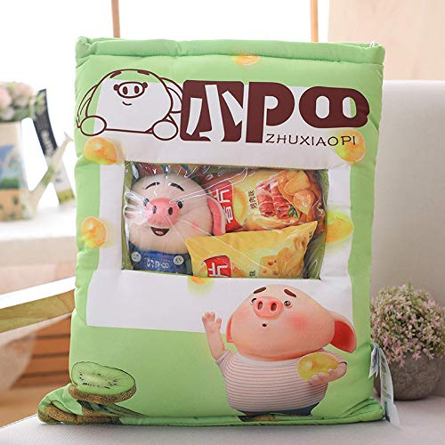 AINOT Snack Pillow Bunny Pillow Girl Pudding Doll