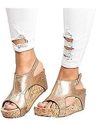 : Sandalen Damen: Schuhe & Handtaschen