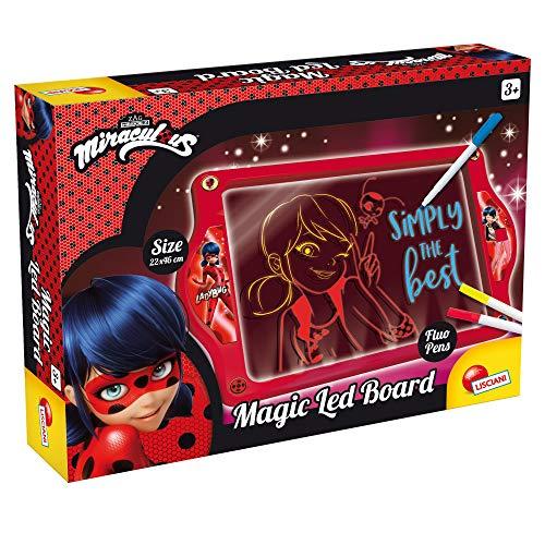Lisciani Giochi - Ladybug Magic LED Board, Multicolore, 68081