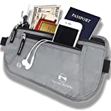 Travel Hidden Money Belt - Security Pouch for Cards and Passports - High