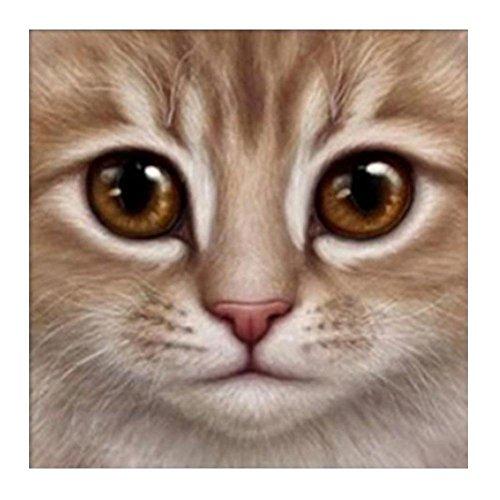 ant Stickerei Mosaik Gemälde Katze Gesicht Kreuzstich Home Decor (Home Decor Gemälde)