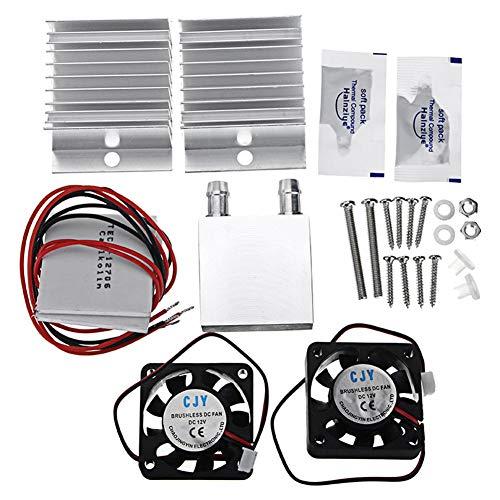 Earlyad Dual Core Cold Air Collection System Tragbare Kühler Kühlung Kleine Wasserkreislauf Kühlschrank Kühlsystem DIY Kit -
