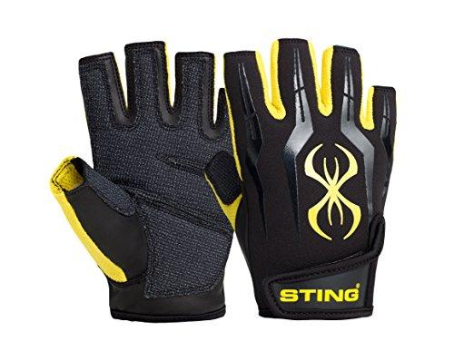 Sting Fusion Guanto da Allenamento, Giallo, M