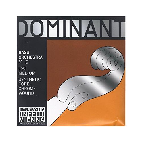 Generic 1st G Single Double Bass Strings Rope Steel Nickel 3//4