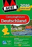 ACSI Campingführer Deutschland 2016 mit DVD (Hallwag Promobil) -