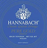 Hannabach 8257 HT Pure 24 Carat Gold-Plated, 3-Bass Set