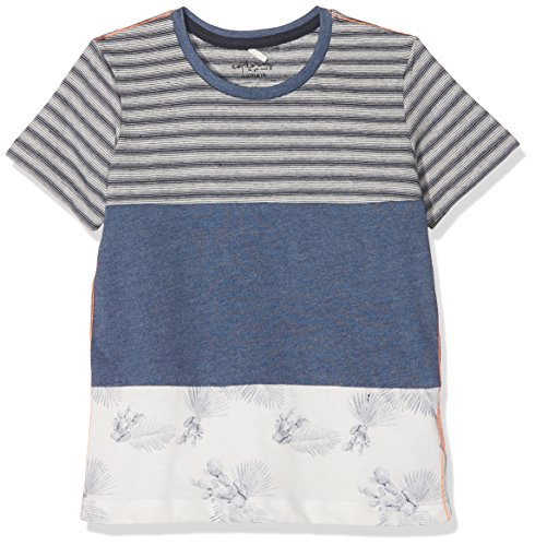 NAME IT Jungen NKMJAY SS TOP T-Shirt, Mehrfarbig Vintage Indigo, 122 -