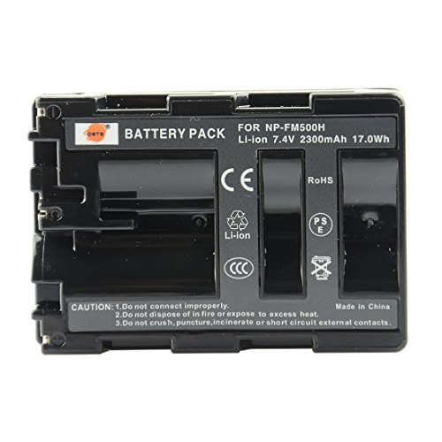 DSTE NP-FM500H Replacement Li-ion Battery for Sony Alpha SLT A77V A77II A350 A450 A500 A550 A700 A850 A900 CLM-V55 DSLR Camera as NP-FM500  available at amazon for Rs.2219