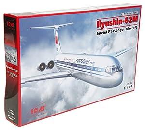 ICM 14405 - 1/144 ilyushin 62M, la aviación
