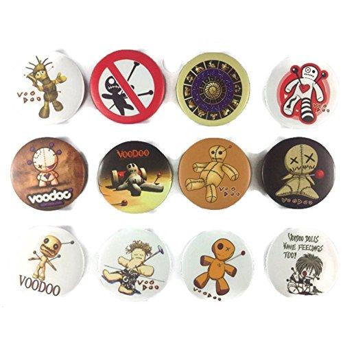 Brosche Voodoo Vixen Awesome Qualität Viel 12neuen Pin Button Badge 3,2cm (Voodoo-pins)