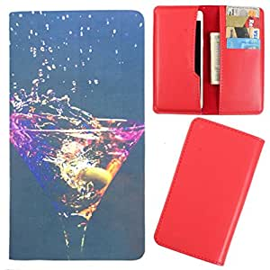 DooDa - For Lava Pixel V1 PU Leather Designer Fashionable Fancy Case Cover Pouch With Card & Cash Slots & Smooth Inner Velvet