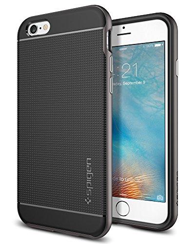 igen® [Neo Hybrid] Dual-Layer Schutzrahmen [Gunmetal] TPU Schale + PC Farbenrahmen / 2-teilige Premium Handyhülle / Schutzhülle für iPhone 6/6S Case, iPhone 6/6S Cover - Gunmetal (SGP11618) (Iphone 6 Hybrid Case)