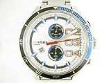 Diesel Uhrenarmband DZ4313 Rostfreier Stahl Silber 24mm (NUR UHRENARMBAND - UR NICHT INBEGRIFFEN!)
