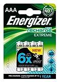 Energizer Original Akku Extreme Micro AAA (800mAh, 1,2 Volt, vorgeladen 4-er Pack)