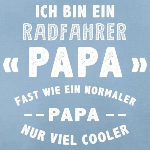 Ich bin ein Radfahrer Papa - Herren T-Shirt - 13 Farben Himmelblau