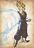 """Poster Dragon Ball """"Wanted"""" Vegetto SSJ - A3 (42x30 cm)"""