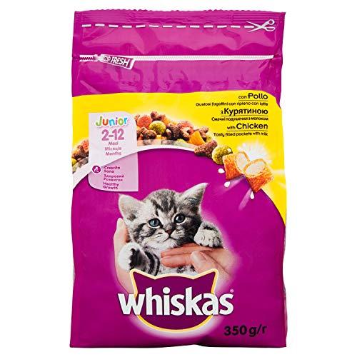 Whiskas - Junior con Pollo 1 Sacchetto 350,00 gr