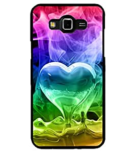 ColourCraft Love Design Back Case Cover for SAMSUNG GALAXY GRAND 3