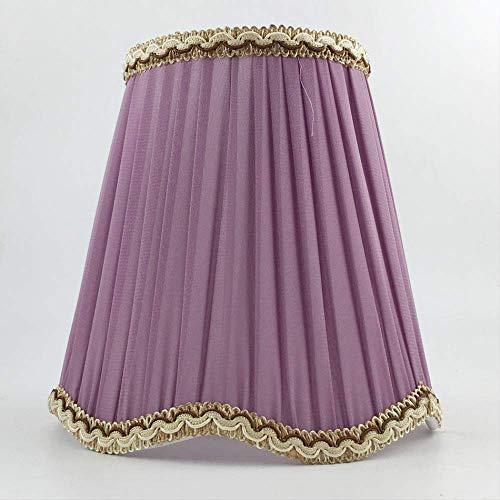 PMWLKJ - Pantalla para lámpara de pared (tamaño pequeño), color morado
