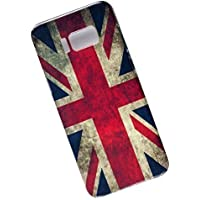 Slim Case for Samsung Galaxy S8 Plus. Tasche Cover. Flag of the United Kingdom. UK Flag.