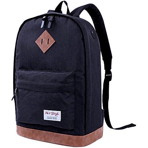 """Zaino scuola vintage per computer portatile 15.6"""" - HotStyle 936 Plus Zaini"""