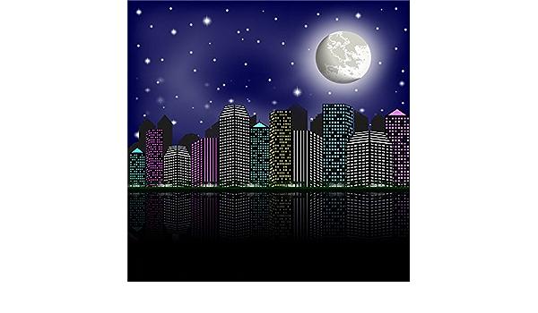 Kate Super City Photography Background Moon Super Hero Camera Photo