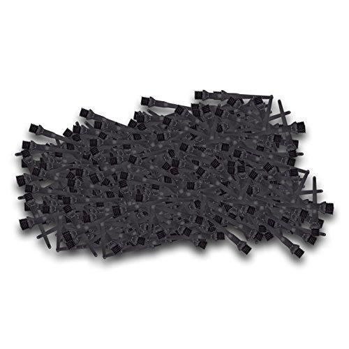 Tufflex-Spitzen 2BA lang Schwarz (500 Stück)
