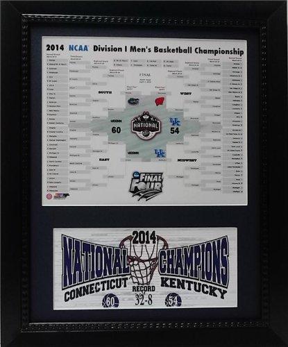 Encore Select 144–00NCAA Connecticut Huskies Universität Connecticut 2014Tournament Champions mit Halterung Deluxe Rahmen, 27,9cm von 35,6cm (Champions Deluxe Rahmen)