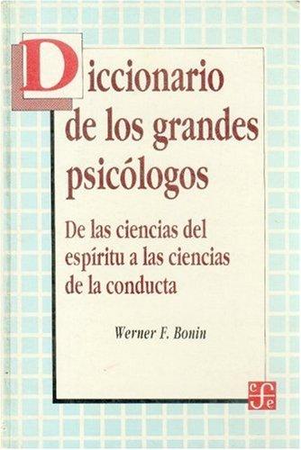 Diccionario de Los Grandes Psicologos