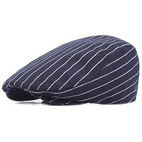 Mode Cabbie Cap - iParaAiluRy Retro coton Newsboy Cap journal Chapeau de garçon Béret pour les adolescents et les