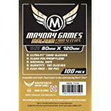 Mayday Games - 331682 - 50 Premium 80 X 120 Black Backed Magnum Board Game Sleeves - Dixit