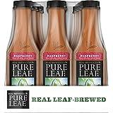 Raspberry : Pure Leaf Iced Tea, Raspberry, Sweetened, Real Brewed Black Tea, 18.5 Ounce Bottles (Pack Of 12)
