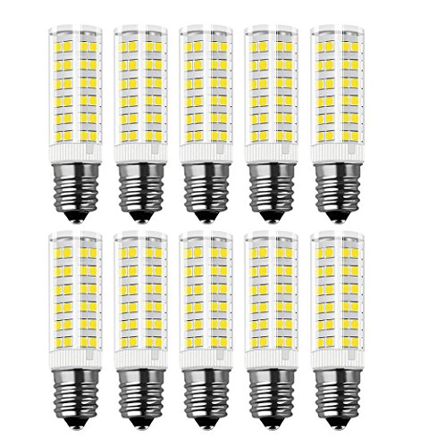 Glühbirne E14 LED, RANBOO, 7W Ersatz für 60W Halogenlampen, Nicht Dimmbar, 450lm, Kaltweiß 6000K, 360°Abstrahwinkel, LED Leuchtmittel SES E14,Edison Schraube LED Birnen 220-240V AC, 10er Pack -