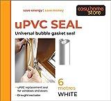 uPVC Universal-Ersatzdichtung für Kunststoff-Fenster und -Türen 6 m, weiß