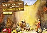 Daniel in der Löwengrube. Kamishibai Bildkartenset.: Entdecken - Erzählen - Begreifen: Kinderbibelgeschichten. (Bibelgeschichten für unser Erzähltheater)