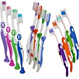 Brosses à dents pour enfants ~ Lot de 12 brosses (Lot Marin)