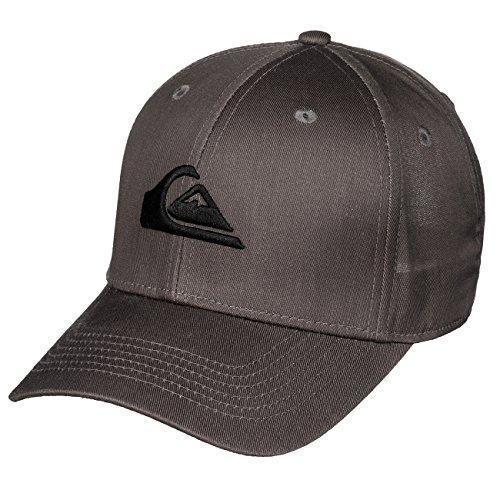 Quiksilver bambini Cap Decades Youth B HATS-Dark Shadow, grigio, Taglia unica