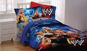 Champion Lot de 5 figurines de catch WWE John Cena Ensemble de linge de lit complète