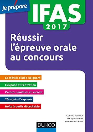 IFAS 2017 Réussir l'épreuve orale au concours