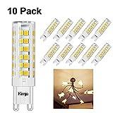 Lampadine LED G9 7W Kimjo Bianco Caldo 2800K Pari a Lampada Alogena da 60W 500LM 80Ra 230V Non Dimmerabile 10 Pezzi